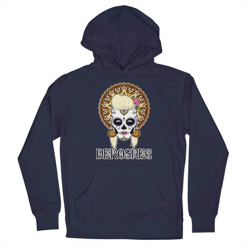DEROSNEC - Bed of Roses, Muerta (Color) Men's Pullover Hoody by Oh Just Peachy Studios Music Store