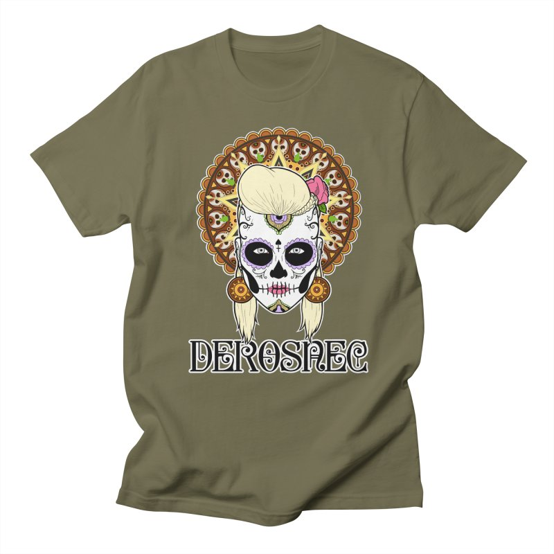 DEROSNEC - Bed of Roses, Muerta (Color) Men's T-Shirt by Oh Just Peachy Studios Music Store