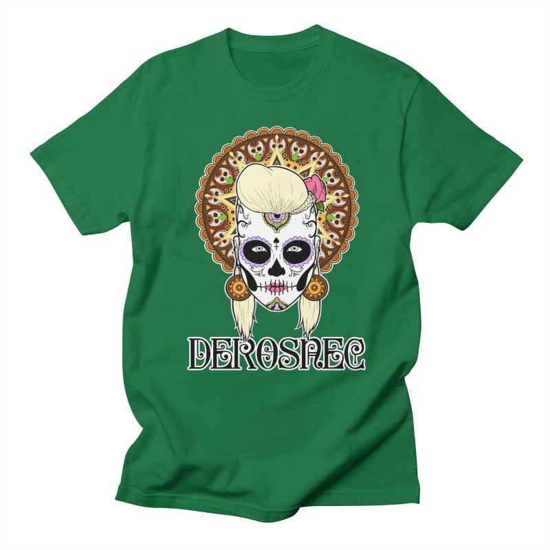 DEROSNEC - Bed of Roses, Muerta (Color) Women's Regular Unisex T-Shirt by Oh Just Peachy Studios Music Store