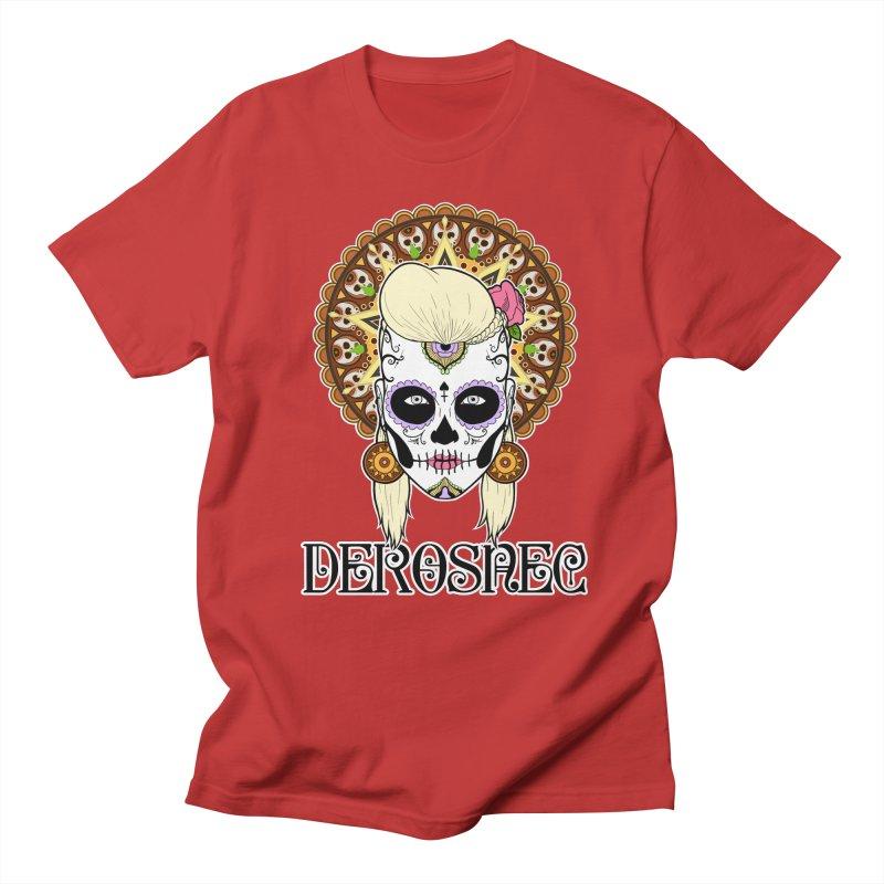 DEROSNEC - Bed of Roses, Muerta (Color) Men's T-Shirt by Oh Just Peachy Studios Music Store