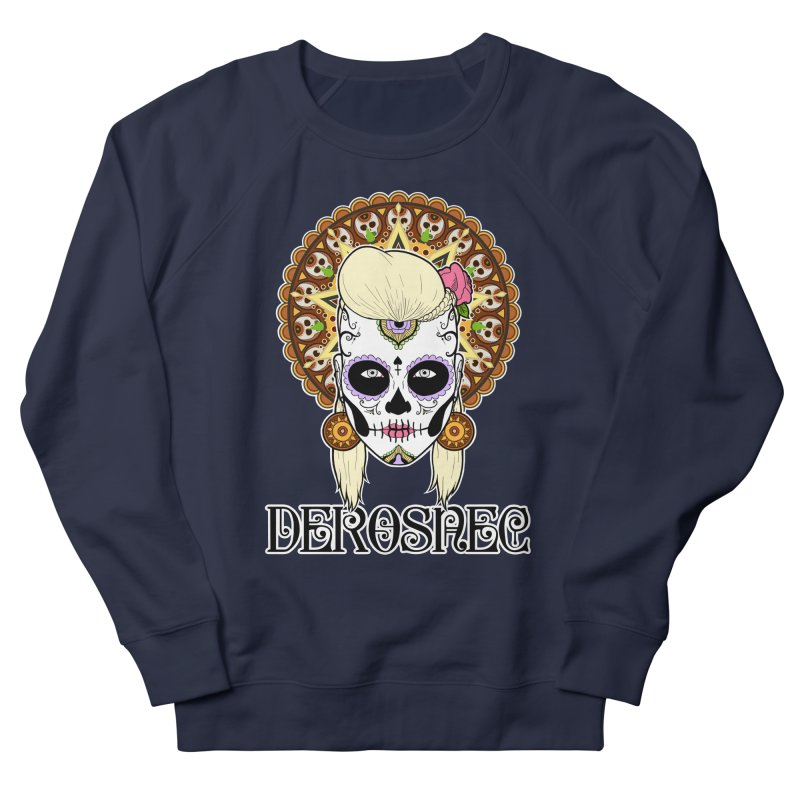 DEROSNEC - Bed of Roses, Muerta (Color) Women's French Terry Sweatshirt by Oh Just Peachy Studios Music Store