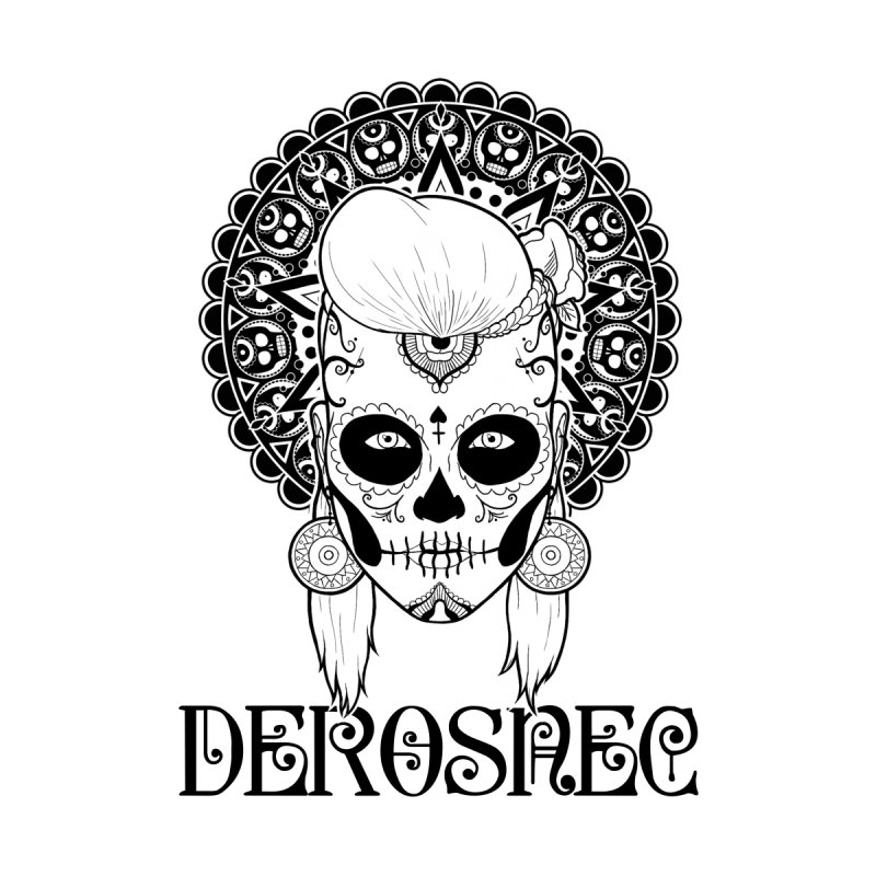 DEROSNEC - Bed of Roses, Muerta (BW)   by Oh Just Peachy Studios Music Store