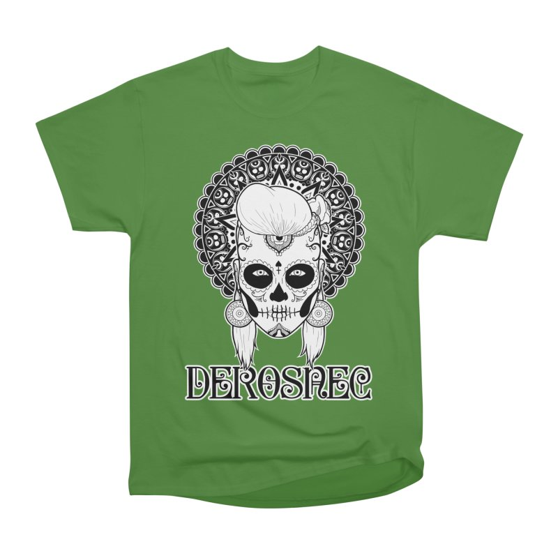 DEROSNEC - Bed of Roses, Muerta (BW) Women's Classic Unisex T-Shirt by Oh Just Peachy Studios Music Store