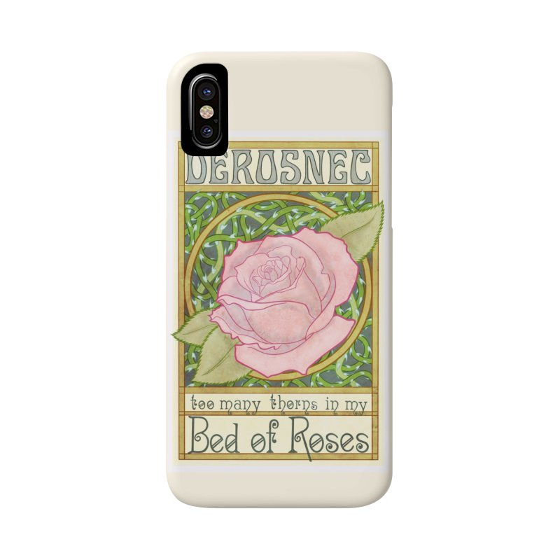 DEROSNEC - Bed of Roses (Color) Accessories Phone Case by Oh Just Peachy Studios Music Store