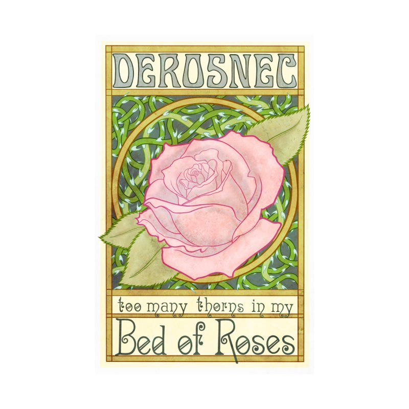 DEROSNEC - Bed of Roses (Color) Kids Baby Longsleeve Bodysuit by Oh Just Peachy Studios Music Store