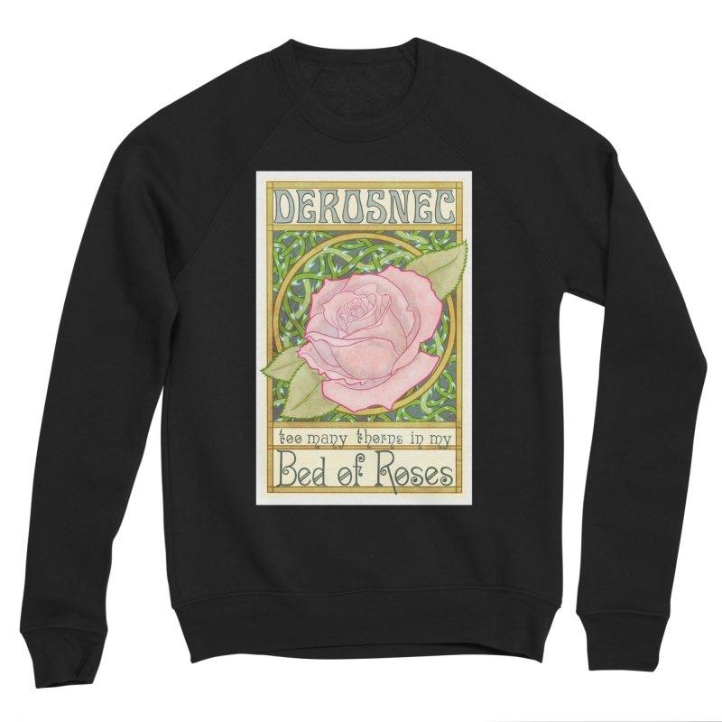 DEROSNEC - Bed of Roses (Color) Women's Sponge Fleece Sweatshirt by Oh Just Peachy Studios Music Store