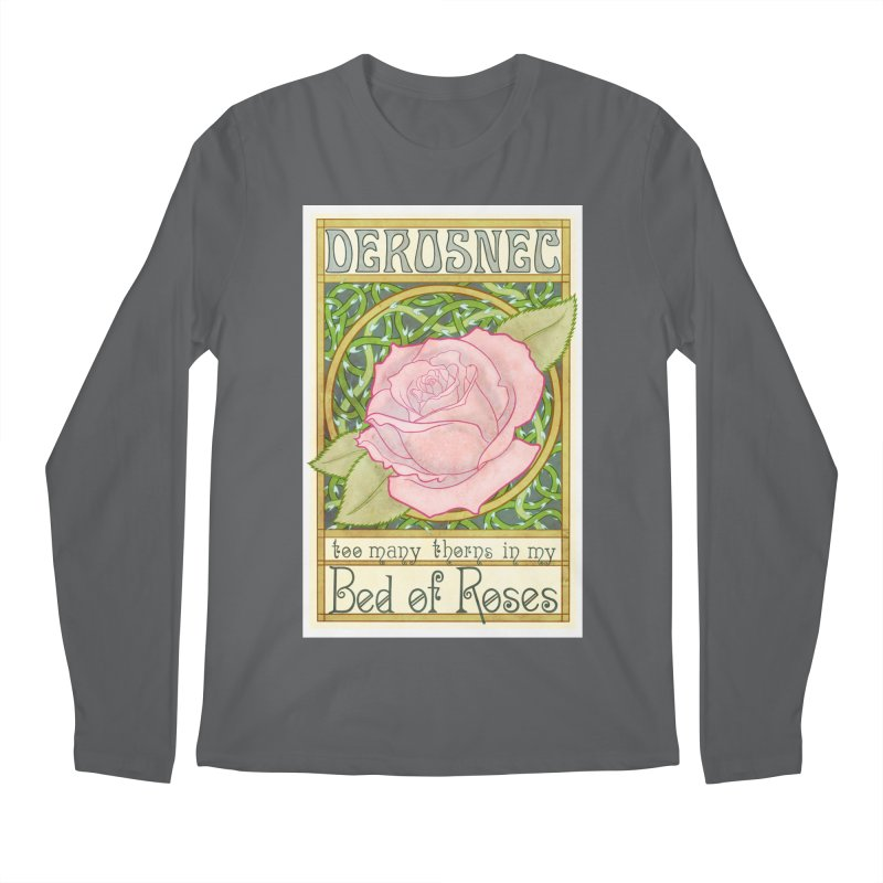 DEROSNEC - Bed of Roses (Color) Men's Regular Longsleeve T-Shirt by Oh Just Peachy Studios Music Store