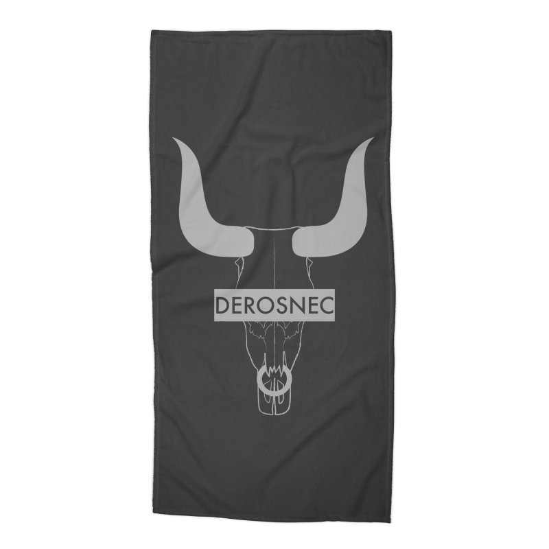 DEROSNEC - Bullheaded Accessories Beach Towel by Oh Just Peachy Studios Music Store