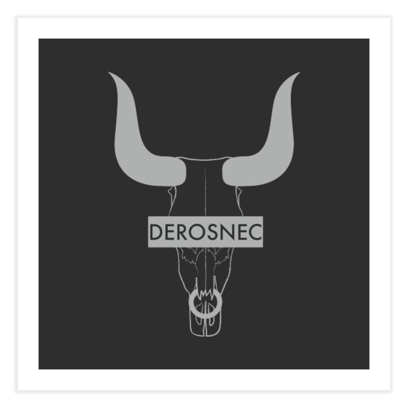DEROSNEC - Bullheaded Home Fine Art Print by Oh Just Peachy Studios Music Store