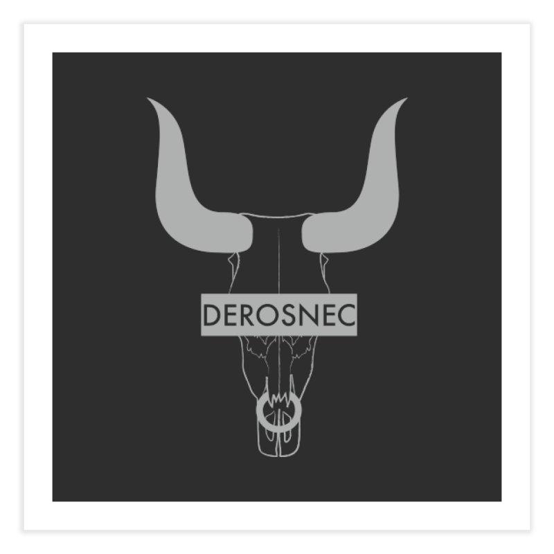 DEROSNEC - Bullheaded Home Fine Art Print by Oh Just Peachy Studios Music Store
