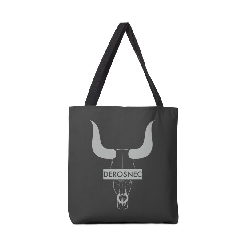 DEROSNEC - Bullheaded Accessories Tote Bag Bag by Oh Just Peachy Studios Music Store