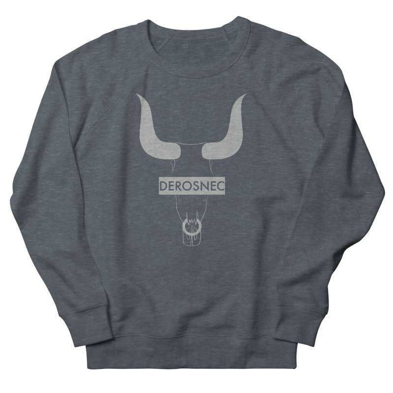 DEROSNEC - Bullheaded Women's French Terry Sweatshirt by Oh Just Peachy Studios Music Store