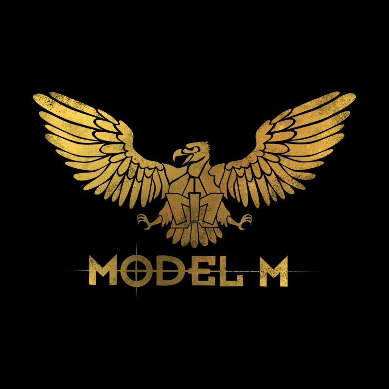 Model M - The Eagle None  by Oh Just Peachy Studios Music Store
