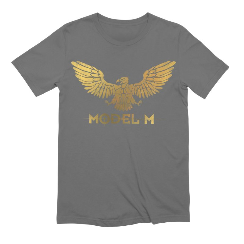 Model M - The Eagle Men's Extra Soft T-Shirt by Oh Just Peachy Studios Music Store