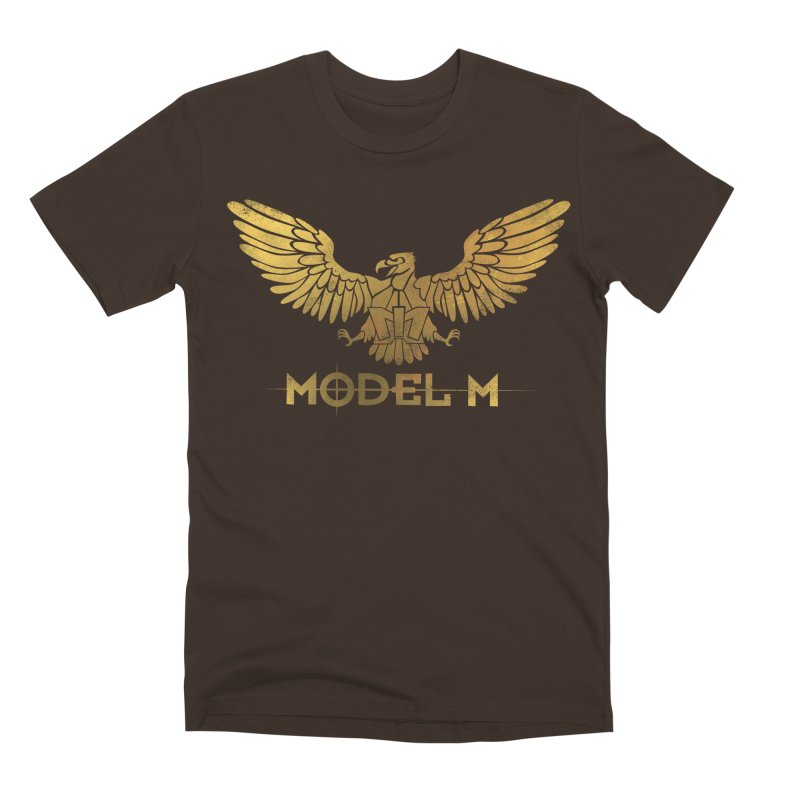 Model M - The Eagle Men's Premium T-Shirt by Oh Just Peachy Studios Music Store