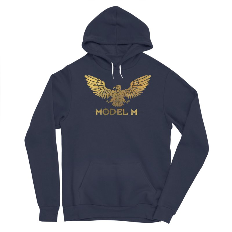 Model M - The Eagle Men's Sponge Fleece Pullover Hoody by Oh Just Peachy Studios Music Store