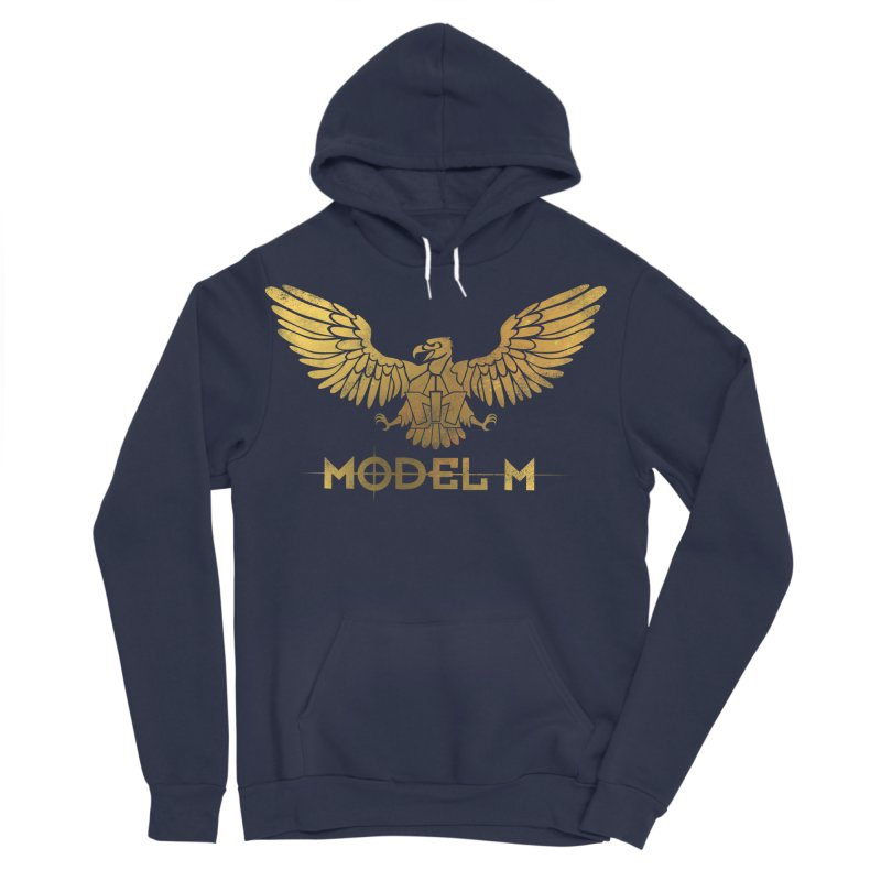 Model M - The Eagle Women's Sponge Fleece Pullover Hoody by Oh Just Peachy Studios Music Store