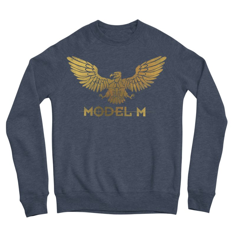 Model M - The Eagle Men's Sponge Fleece Sweatshirt by Oh Just Peachy Studios Music Store