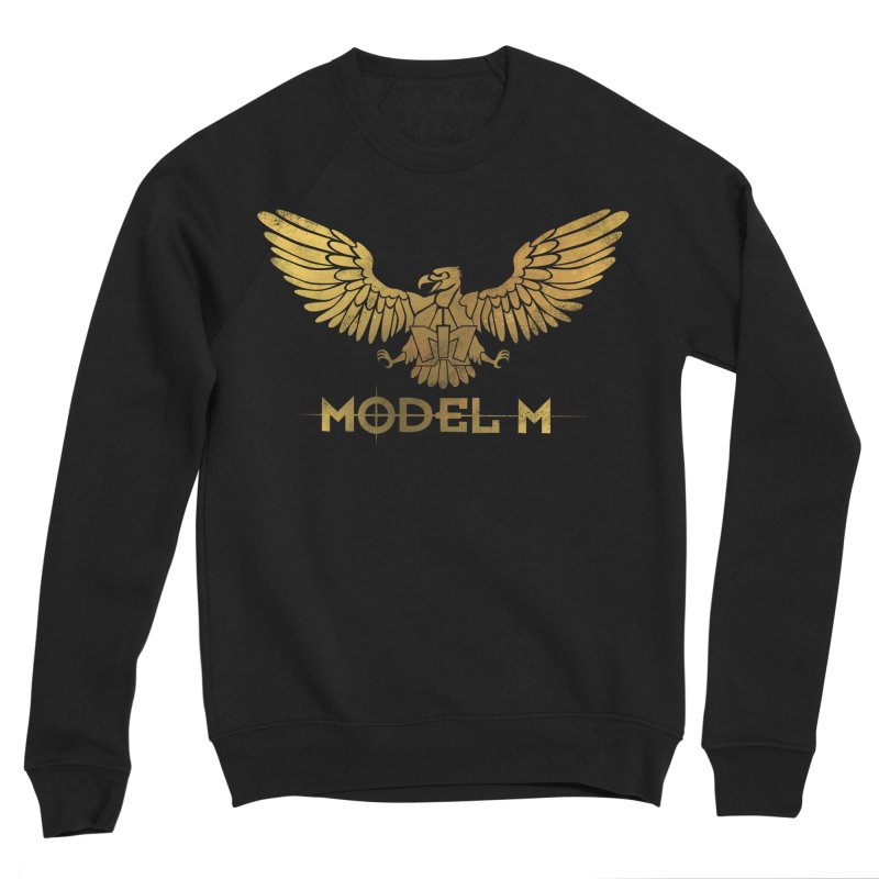 Model M - The Eagle Men's Sponge Fleece Sweatshirt by Oh Just Peachy Studios Music Store