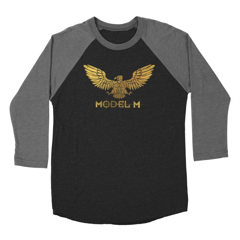 Model M - The Eagle Women's Baseball Triblend Longsleeve T-Shirt by Oh Just Peachy Studios Music Store