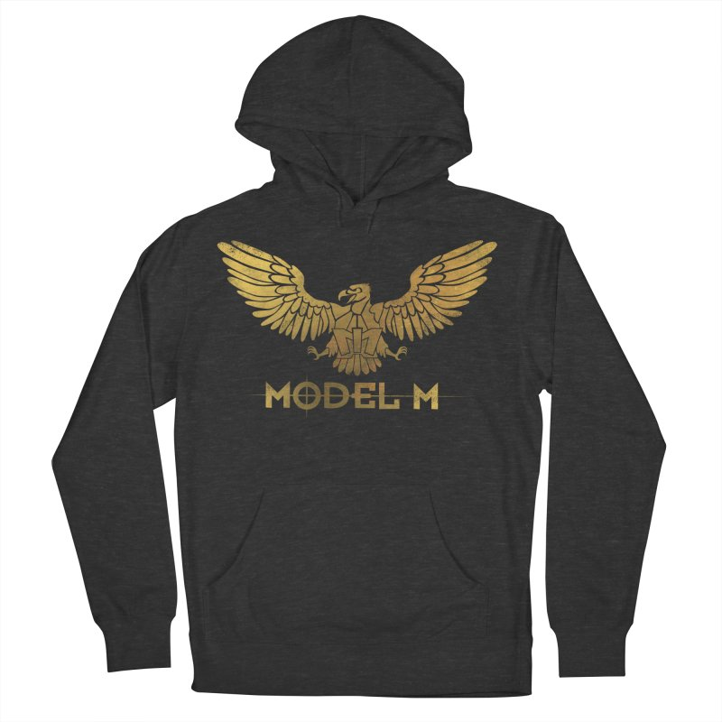 Model M - The Eagle Women's French Terry Pullover Hoody by Oh Just Peachy Studios Music Store