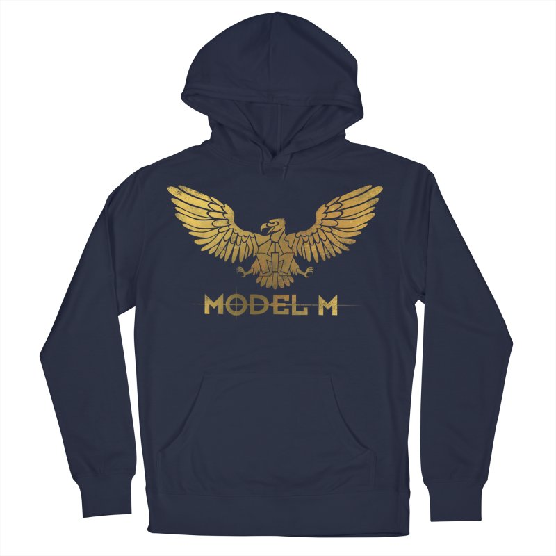 Model M - The Eagle Men's Pullover Hoody by Oh Just Peachy Studios Music Store