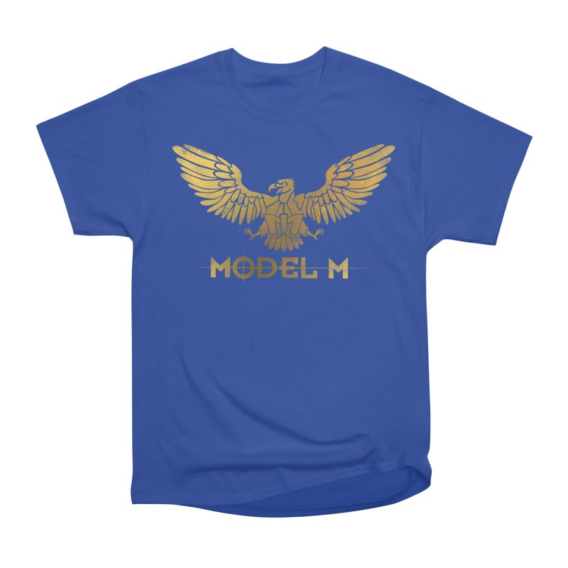 Model M - The Eagle Women's Heavyweight Unisex T-Shirt by Oh Just Peachy Studios Music Store