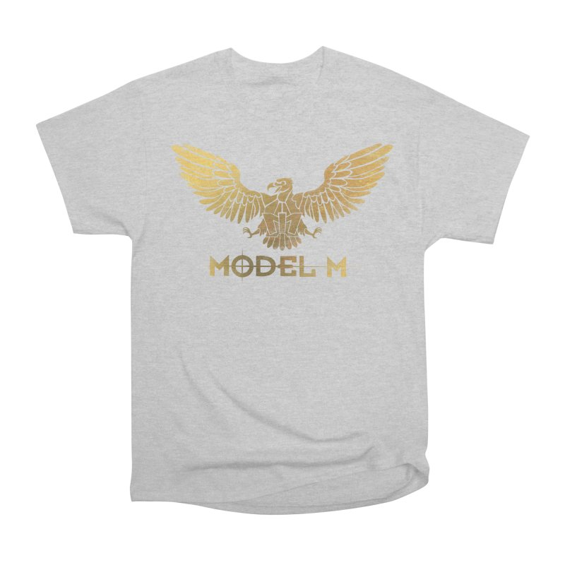 Model M - The Eagle Men's Heavyweight T-Shirt by Oh Just Peachy Studios Music Store