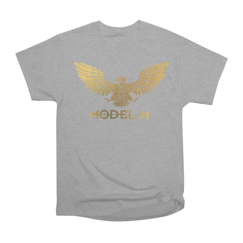 Model M - The Eagle Men's Classic T-Shirt by Oh Just Peachy Studios Music Store