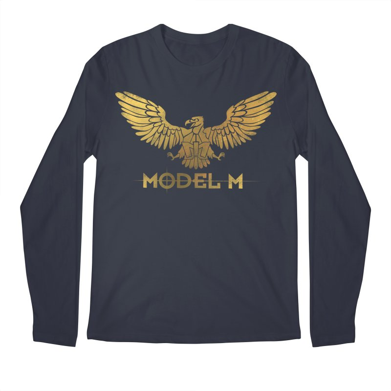 Model M - The Eagle Men's Regular Longsleeve T-Shirt by Oh Just Peachy Studios Music Store