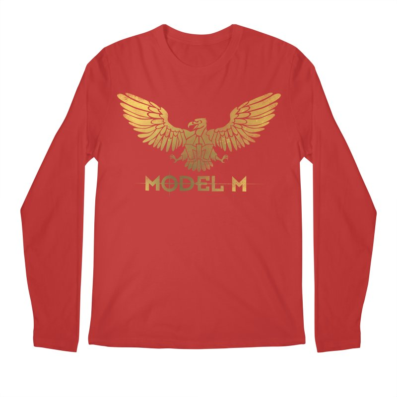 Model M - The Eagle Men's Longsleeve T-Shirt by Oh Just Peachy Studios Music Store