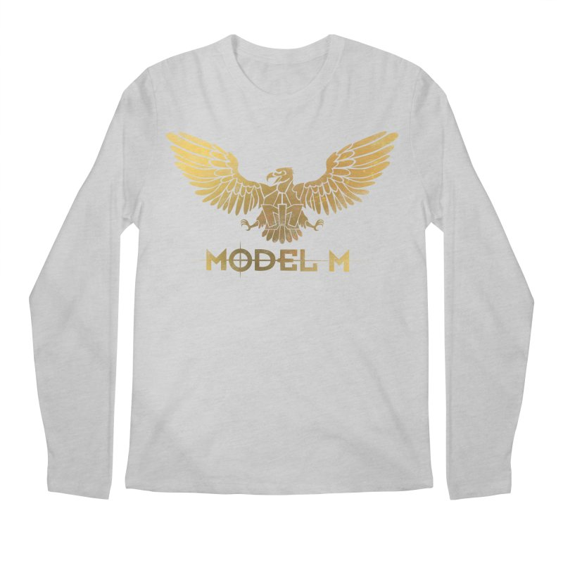 Model M - The Eagle Men's Regular Longsleeve T-Shirt by Oh Just Peachy Studios Music Store