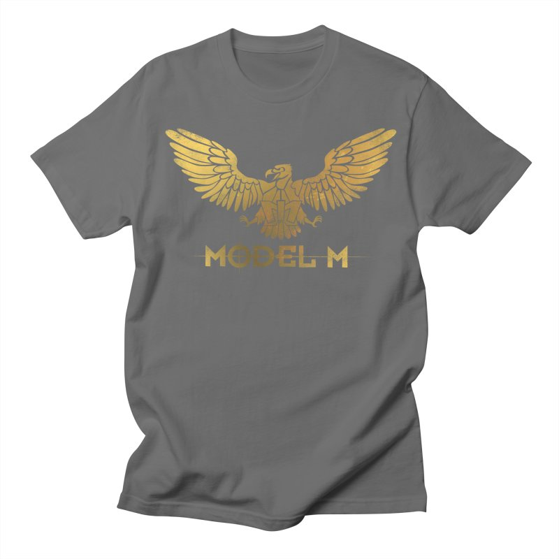 Model M - The Eagle Women's Regular Unisex T-Shirt by Oh Just Peachy Studios Music Store
