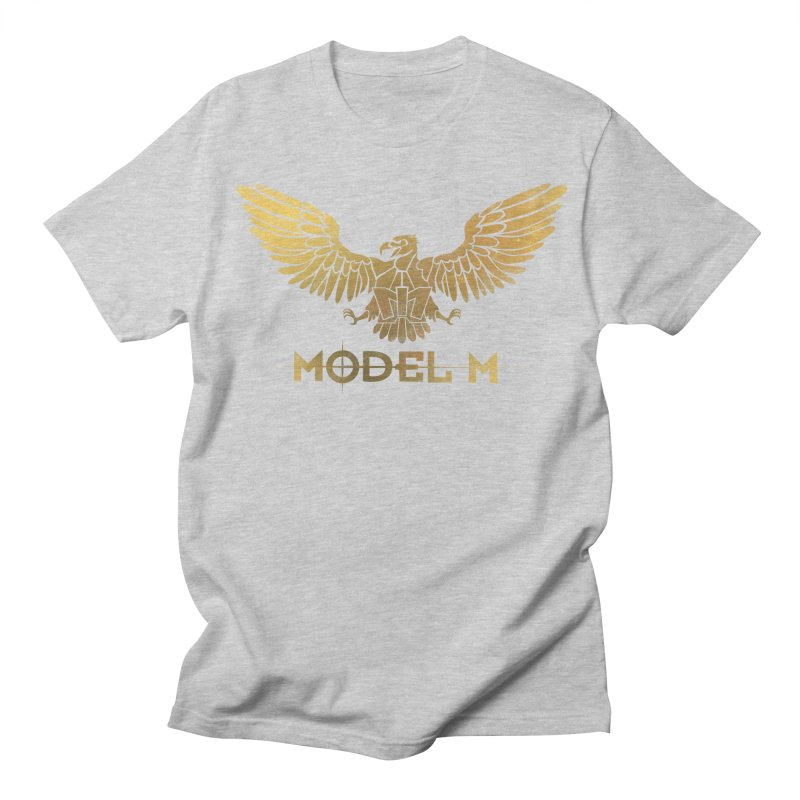 Model M - The Eagle Men's Regular T-Shirt by Oh Just Peachy Studios Music Store
