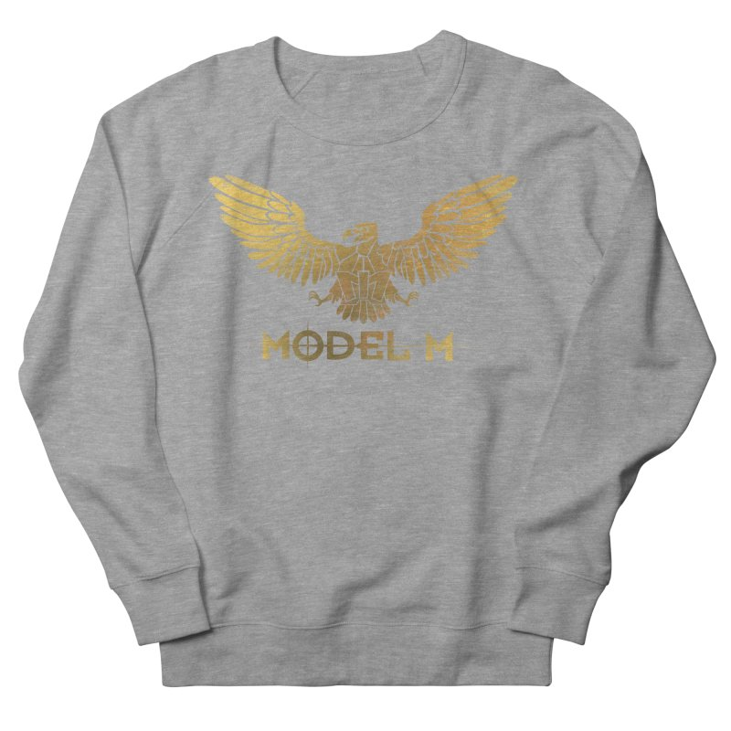 Model M - The Eagle Women's French Terry Sweatshirt by Oh Just Peachy Studios Music Store