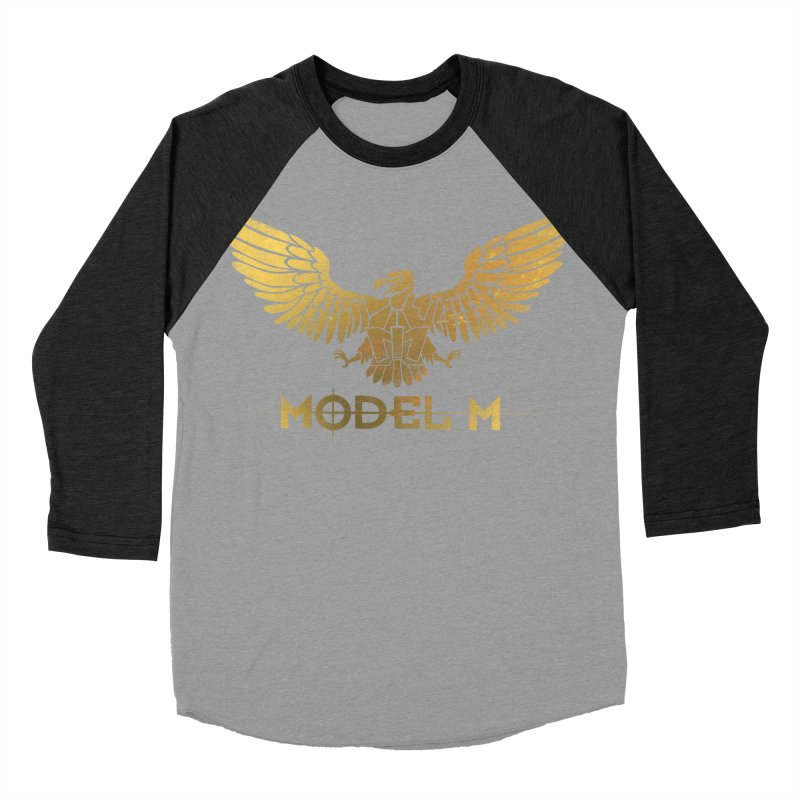 Model M - The Eagle Men's Baseball Triblend Longsleeve T-Shirt by Oh Just Peachy Studios Music Store