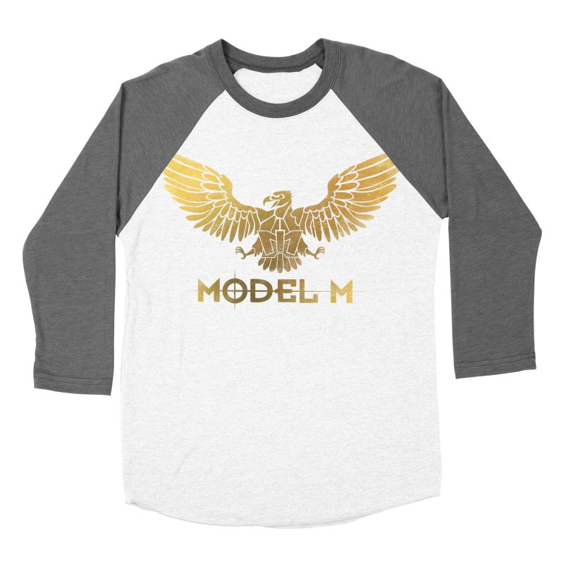 Model M - The Eagle Men's Baseball Triblend T-Shirt by Oh Just Peachy Studios Music Store