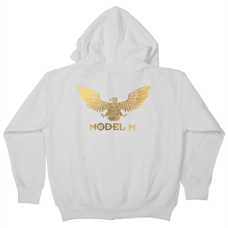 Model M - The Eagle Kids Zip-Up Hoody by Oh Just Peachy Studios Music Store