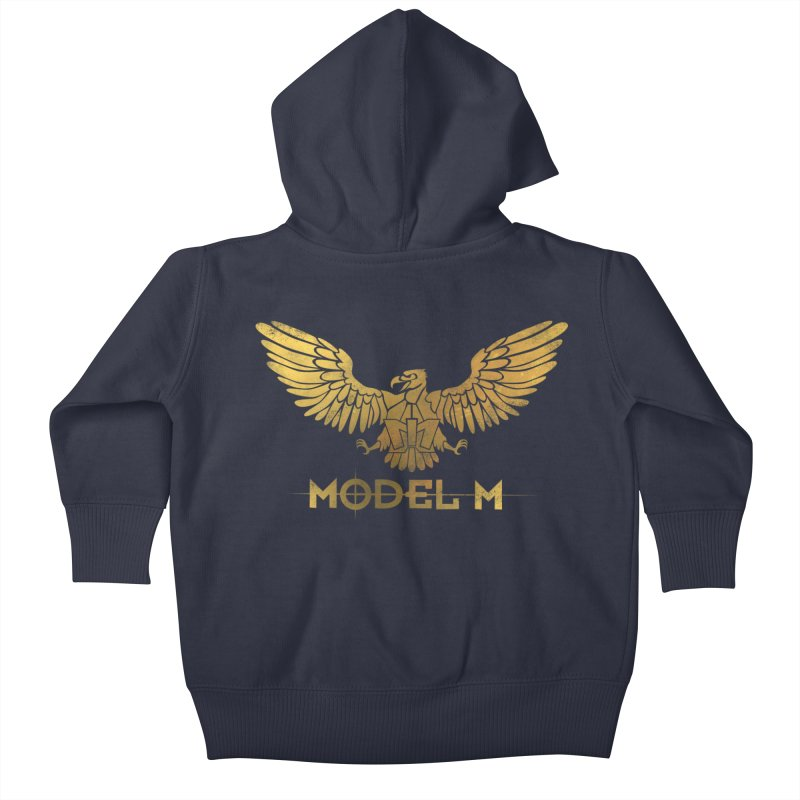 Model M - The Eagle Kids Baby Zip-Up Hoody by Oh Just Peachy Studios Music Store