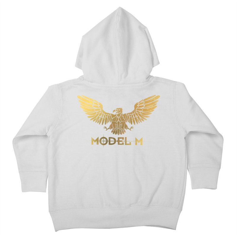 Model M - The Eagle Kids Toddler Zip-Up Hoody by Oh Just Peachy Studios Music Store
