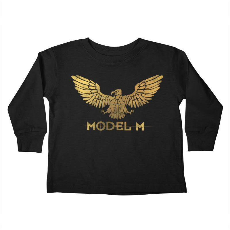 Model M - The Eagle Kids Toddler Longsleeve T-Shirt by Oh Just Peachy Studios Music Store