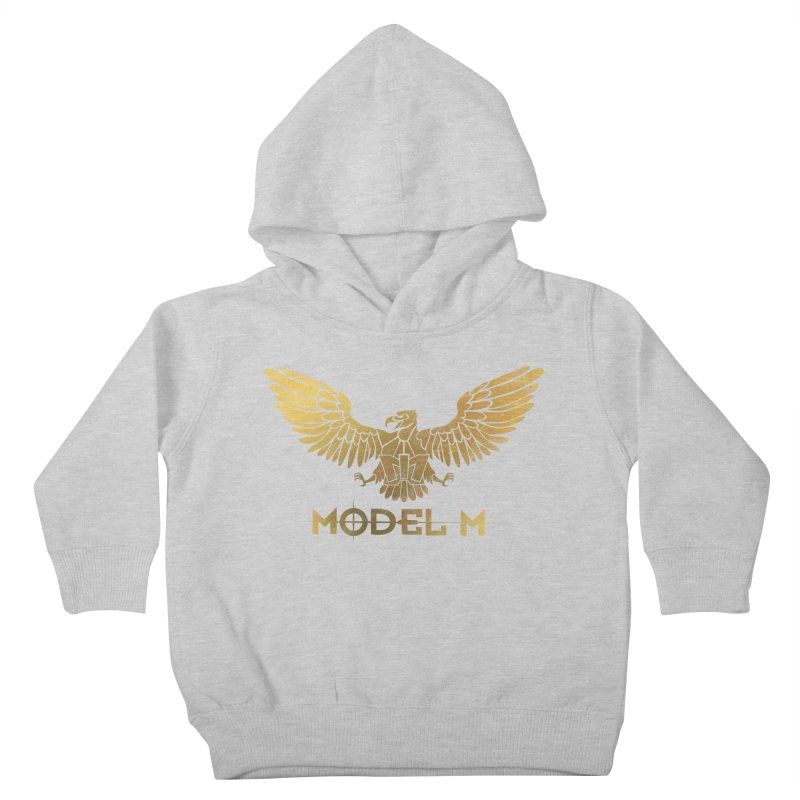 Model M - The Eagle Kids Toddler Pullover Hoody by Oh Just Peachy Studios Music Store