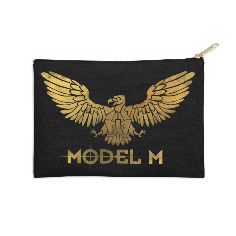 Model M - The Eagle Accessories Zip Pouch by Oh Just Peachy Studios Music Store
