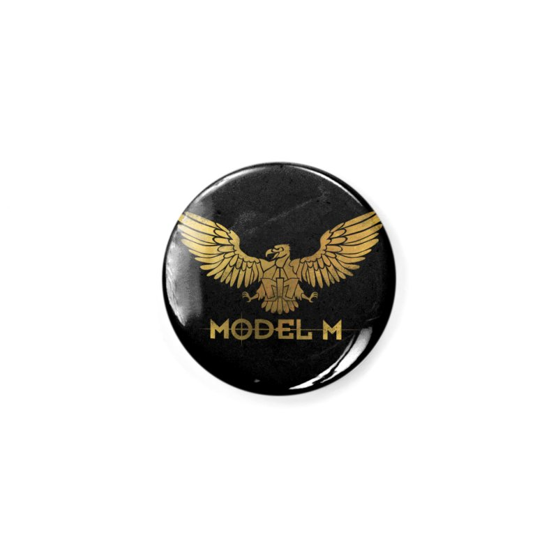 Model M - The Eagle Accessories Button by Oh Just Peachy Studios Music Store