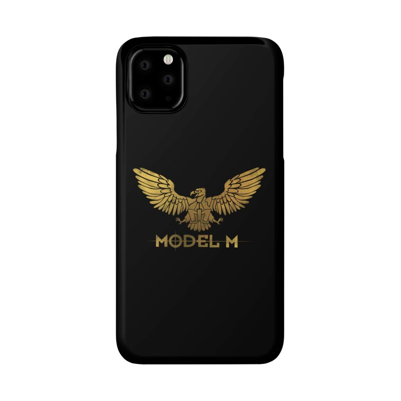 Model M - The Eagle Accessories Phone Case by Oh Just Peachy Studios Music Store