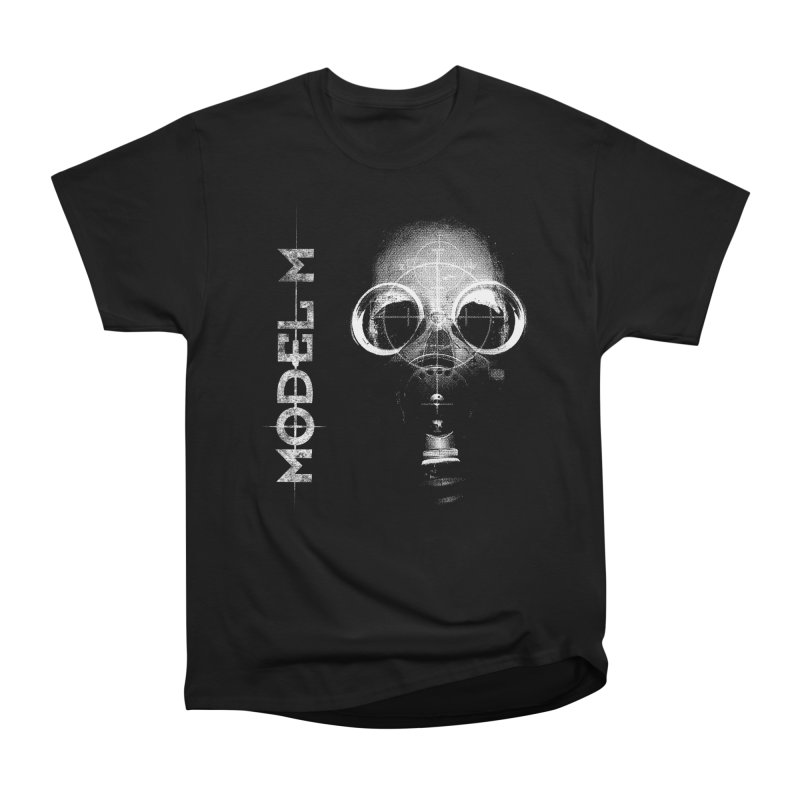 Model M - Hazmat Women's Heavyweight Unisex T-Shirt by Oh Just Peachy Studios Music Store
