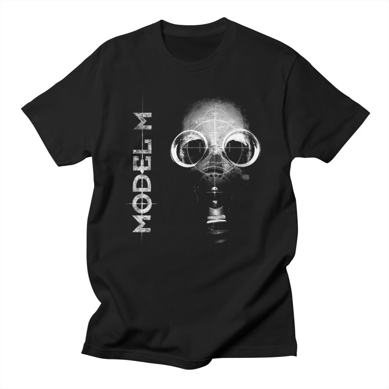 Model M - Hazmat Men's Regular T-Shirt by Oh Just Peachy Studios Music Store
