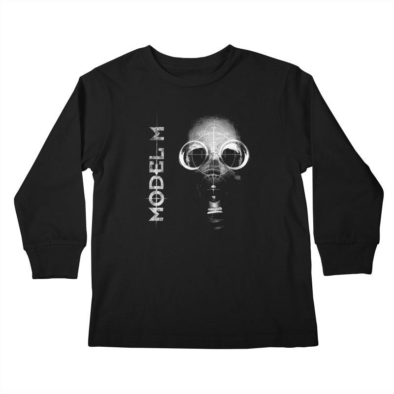 Model M - Hazmat Kids Longsleeve T-Shirt by Oh Just Peachy Studios Music Store