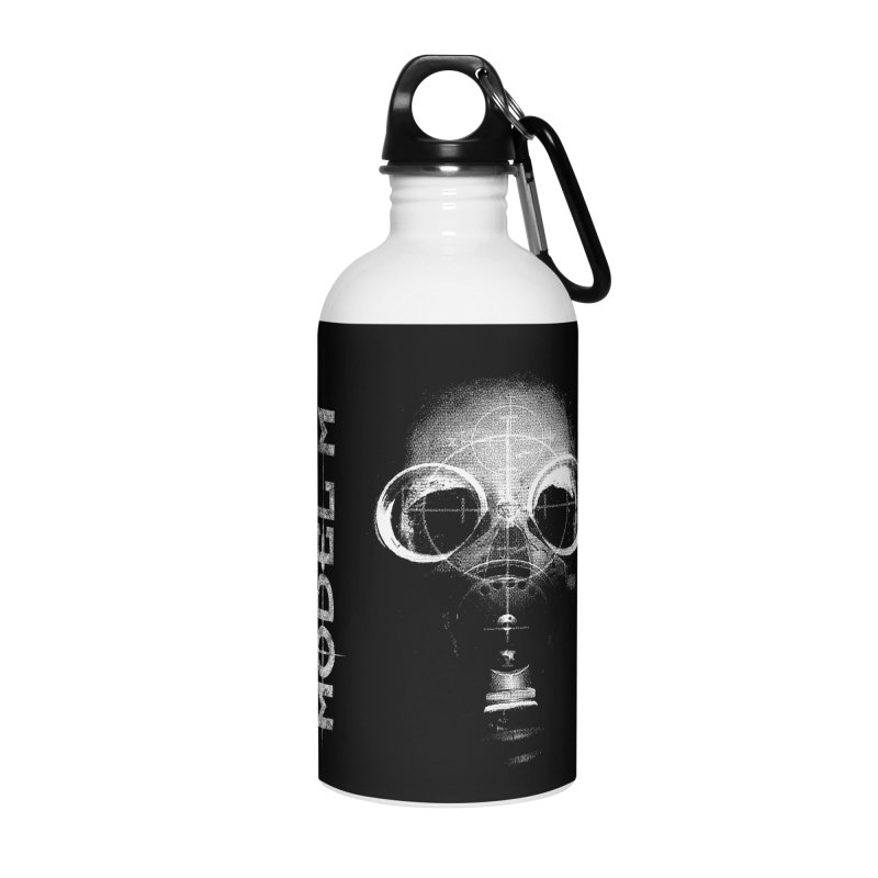 Model M - Hazmat Accessories Water Bottle by Oh Just Peachy Studios Music Store