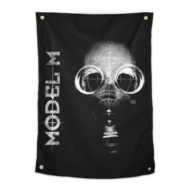 Model M - Hazmat Home Tapestry by Oh Just Peachy Studios Music Store